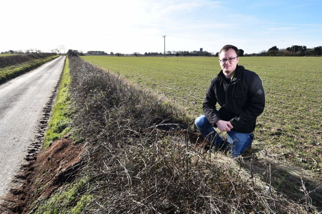 A councillor checking for potholes stumbled on a load of weed