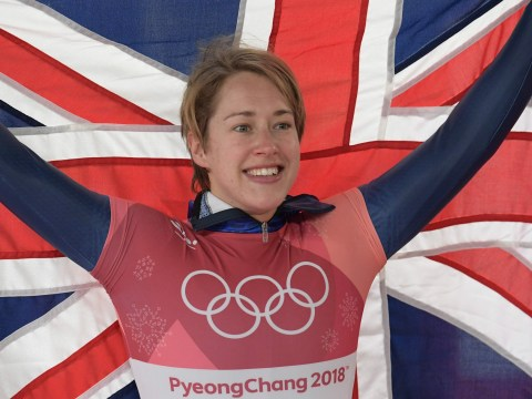 Lizzy Yarnold becomes first Brit to defend Winter Olympics title as Laura Deas clinches bronze
