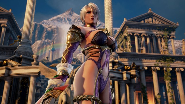 SoulCalibur VI - she'll catch her death in that