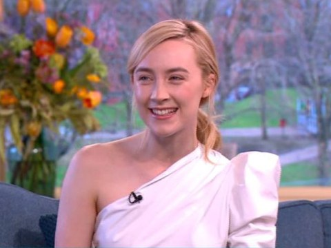Saoirse Ronan shows the world once and for all how to pronounce her name