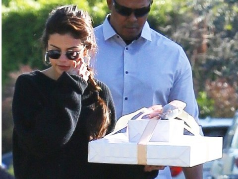 Selena Gomez heads to birthday party with impeccably wrapped gift after returning from Jamaican wedding with Justin Bieber