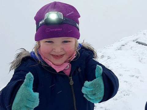 Kind-hearted girl plans to walk equivalent distance of three times Mount Everest for charity – despite being just four