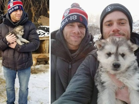 Winter Olympian adopts a puppy after visiting meat farm in South Korea