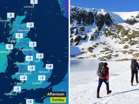 Temperatures set to plummet with snow expected later this week