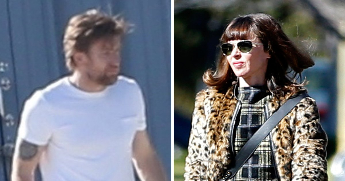 Ewan McGregor spotted with ex wife Eve for family time day after split from girlfriend Mary