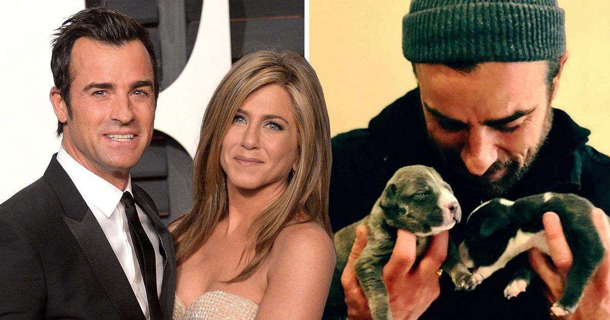 Justin Theroux breaks silence following split from Jennifer Aniston