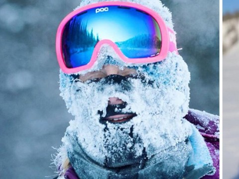 Running a marathon at -40c might leave you with frozen eyelashes