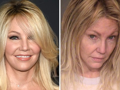 Heather Locklear arrested for 'attacking police officer'