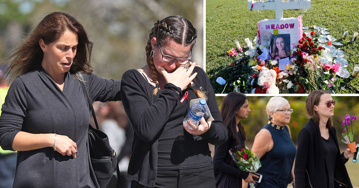 Hundreds gather at first funerals of Florida school massacre victims