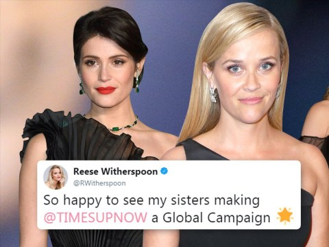 US actresses praise British 'sisters' for standing behind Times Up at 2018 Baftas