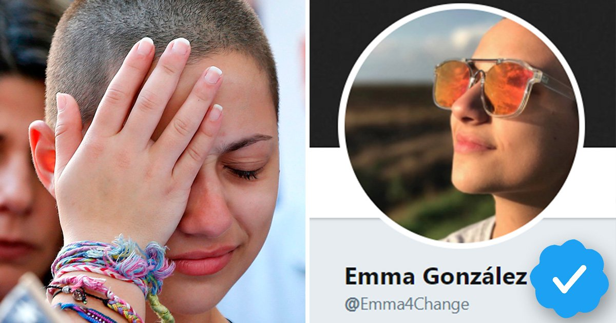 Shooting survivors verified by Twitter to support their fight for gun control