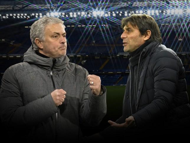 Jose Mourinho v Antonio Conte - a rivalry based on the same problem