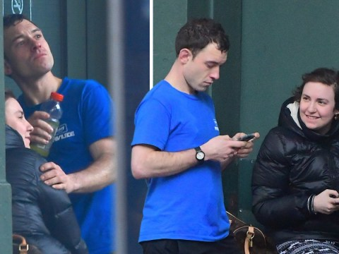 Lena Dunham gets close to mystery man as 'ex Jack Antonoff moves on with Lorde'