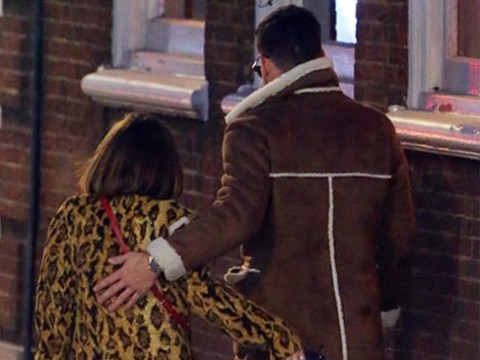 Caroline Flack and CBB's Andrew Brady confirm romance as they stroll arm-in-arm through London