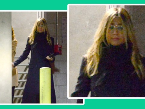 Jennifer Aniston looks downcast in rare public appearance since split from husband Justin Theroux