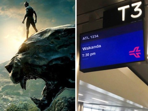 Black Panther fans can now 'catch flights to Wakanda' from Atlanta airport