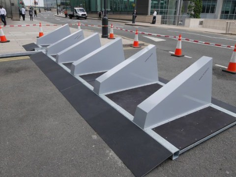 Revolutionary anti-terror barriers introduced to stop vehicles being driven into crowds
