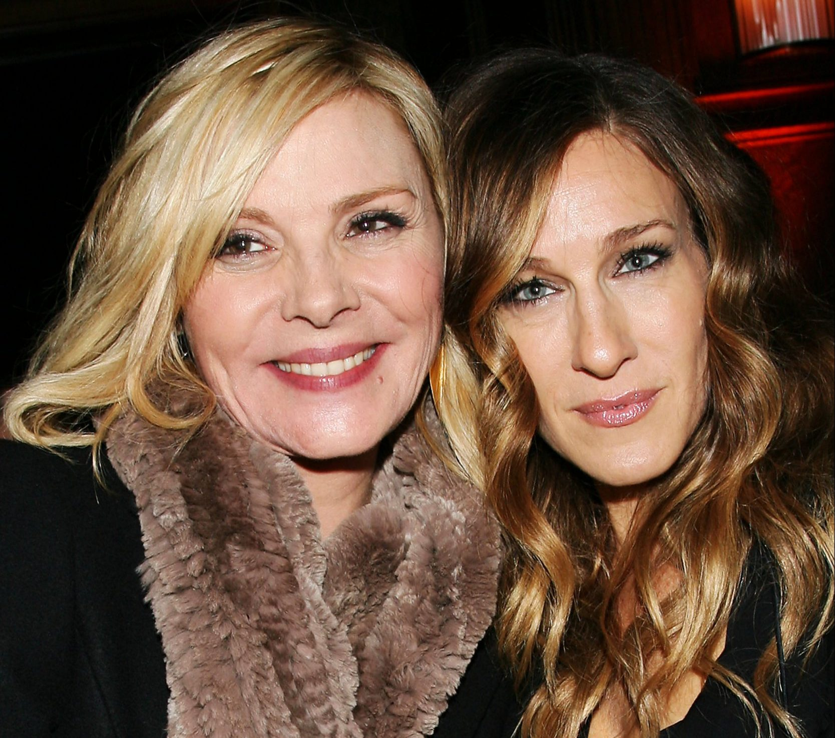 Mandatory Credit: Photo by Dave Allocca/StarPix/REX/Shutterstock (5632704f) Kim Cattrall and Sarah Jessica Parker 'Did You Hear About the Morgans?' film premiere, Ziegfeld Theatre, New York, America - 14 Dec 2009
