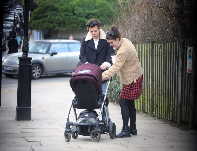 Harry Styles dotes on friend's baby as he indulges broody ...