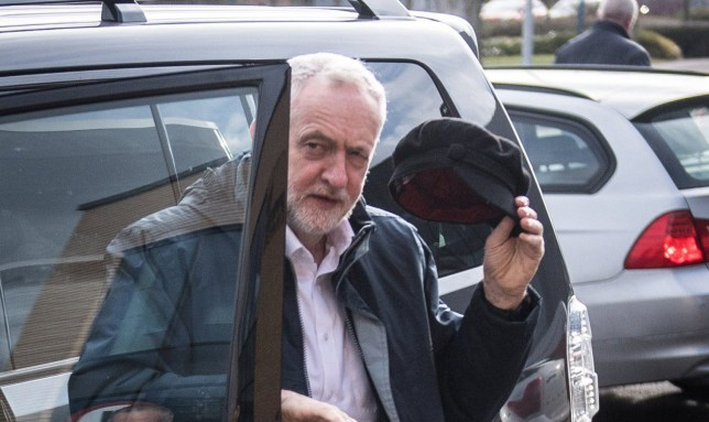 Mandatory Credit: Photo by James Gourley/REX/Shutterstock (9437885a) Jeremy Corbyn Labour Party Brexit Speech, Coventry University, UK - 26 Feb 2018