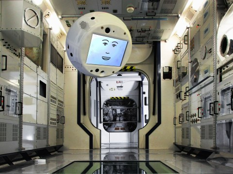 A floating robot called Cimon has gone rogue aboard the International Space Station