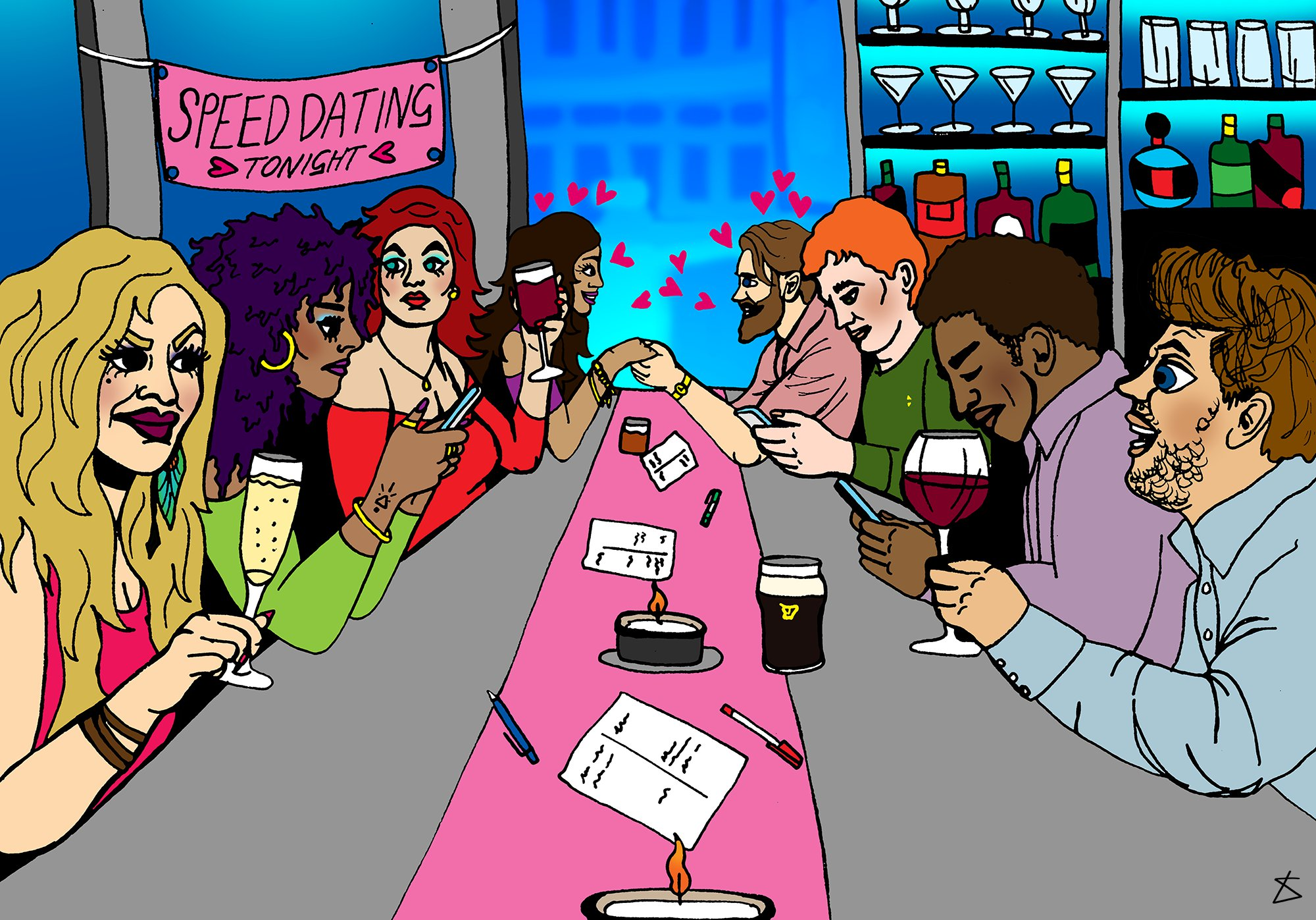 People reveal their worst speed dating stories (Almara) Picture: Liberty Antonia Sadle