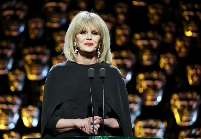 Joanna Lumley hosting the 2018 Baftas