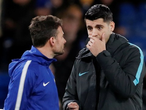 Alvaro Morata criticised for his reaction to being dropped for Chelsea's clash against Barcelona