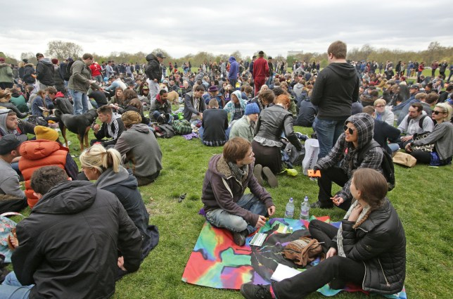 What is 420 and when is the Hyde Park 'World Weed Day' event