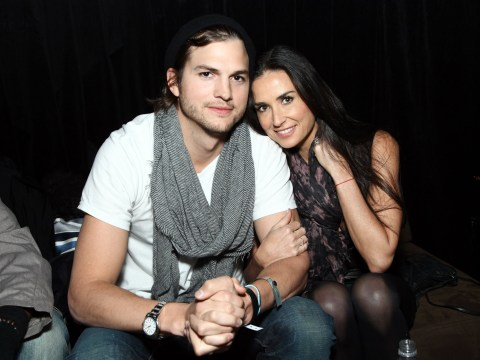 Demi Moore and Ashton Kutcher still pally after cheat claims