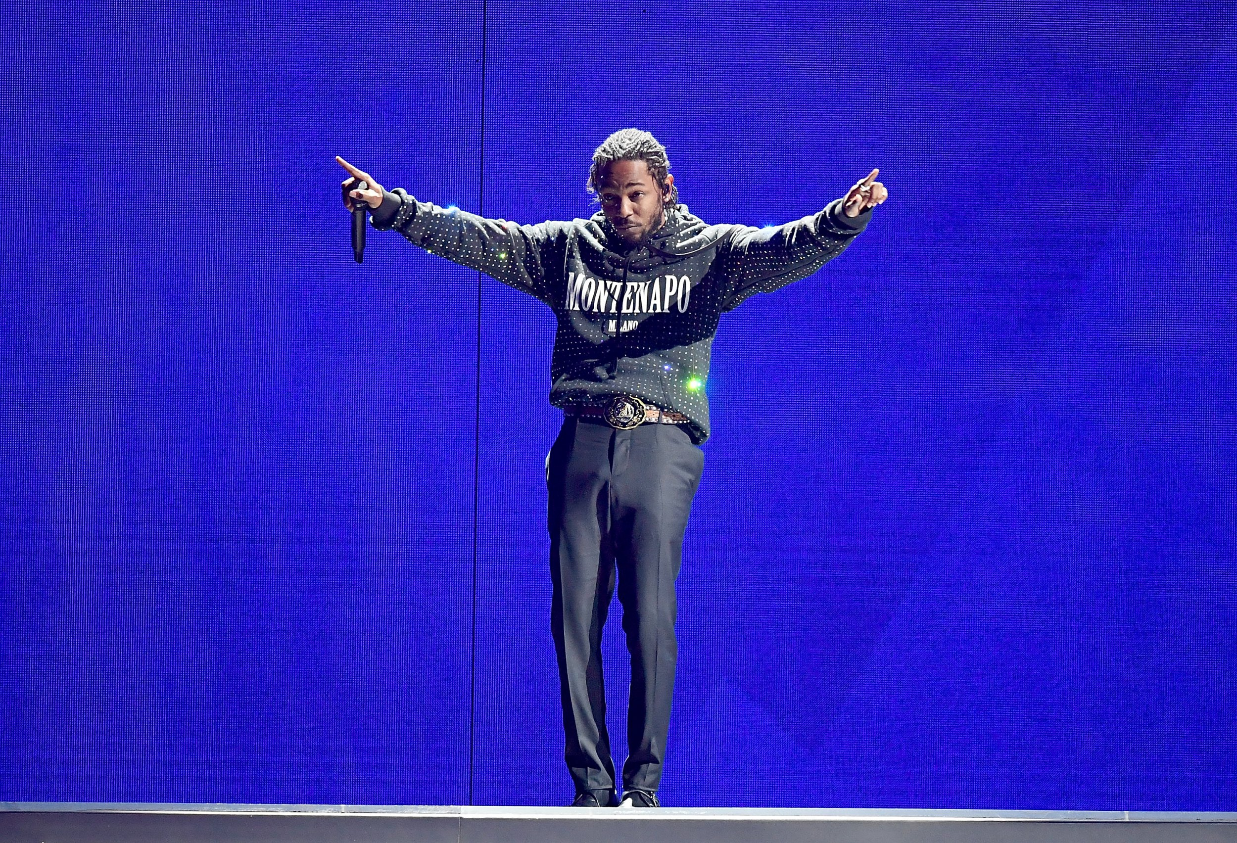 Kendrick Lamar's Brit Awards performance hit with major technical difficulties