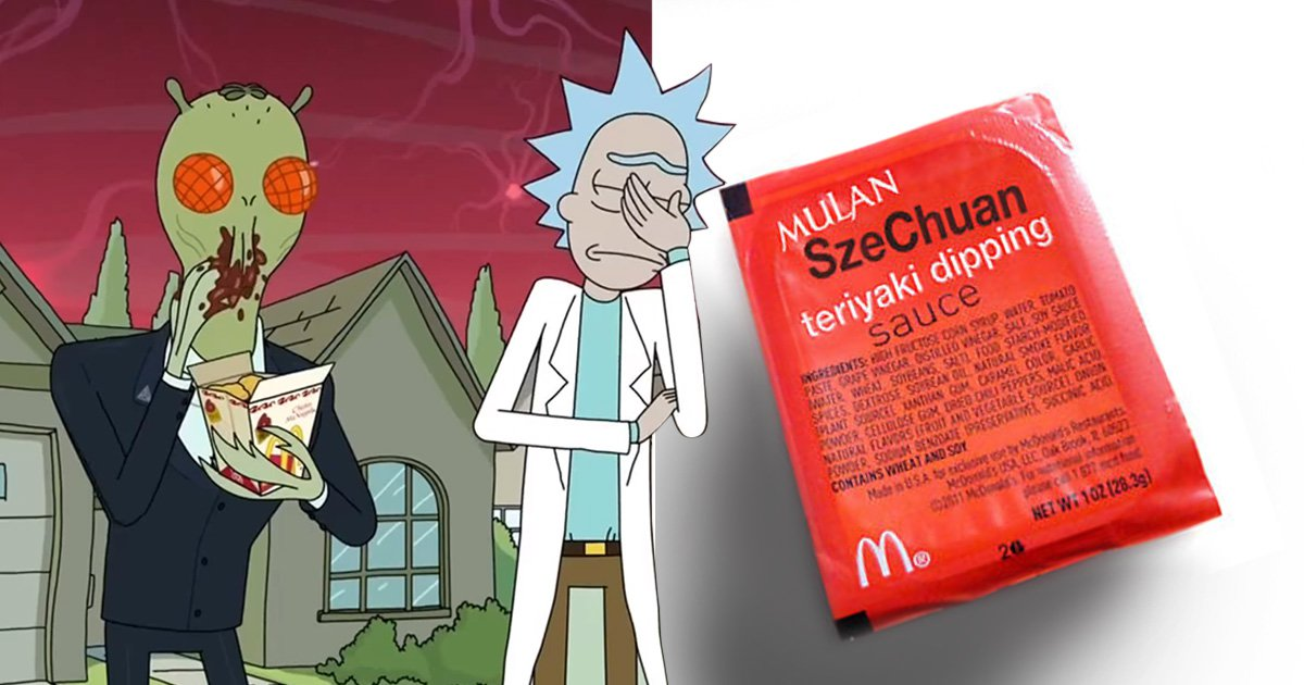 McDonald's is bringing 'Rick and Morty Szechuan sauce' back with 20 million packets
