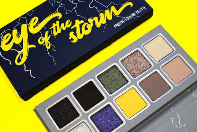 Eye of the Storm Kylie Jenner makeup palette weather collection
