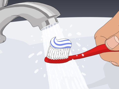 Your toothbrush is probably covered in poo particles