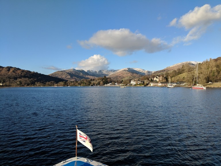 View from Windermere Lake Cruise