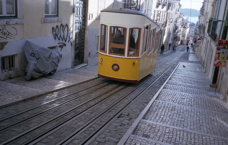 One of Lisbon's many ascensors (Picture: Adam Moore)