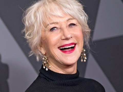 Helen Mirren reveals her secret to looking young is tattooing her eyebrows on and she rocks it