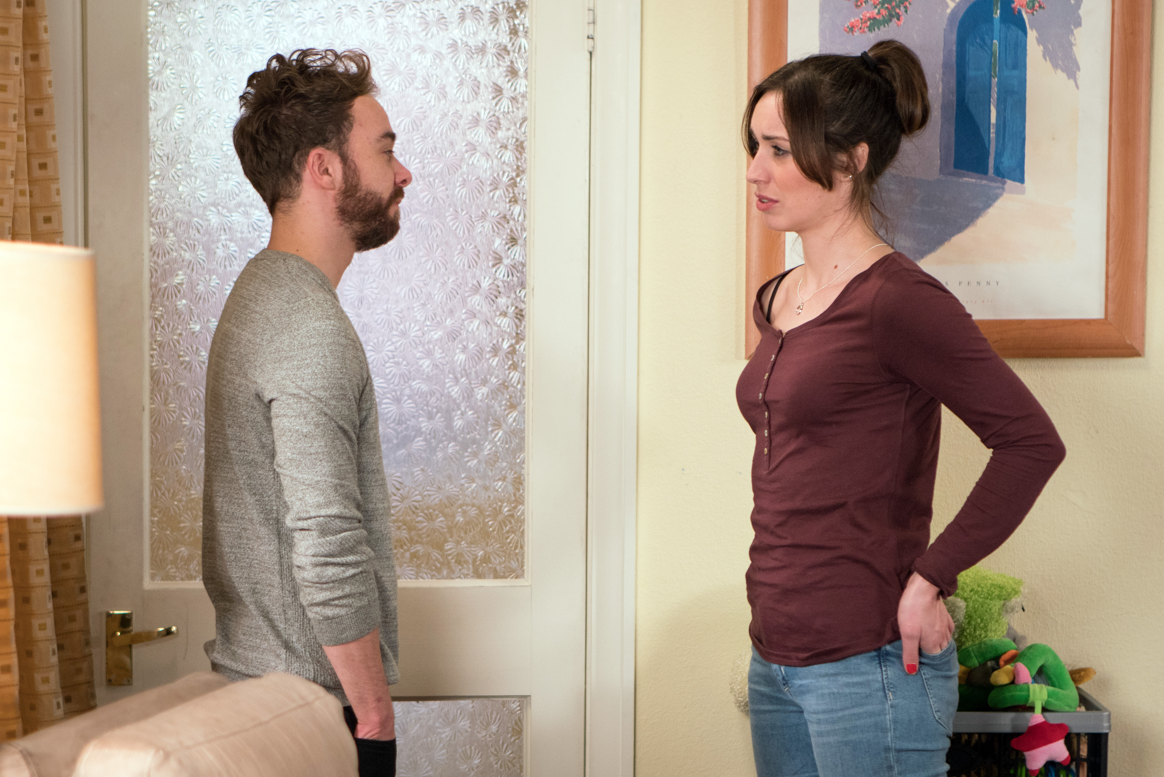 David makes a final decision in Coronation Street
