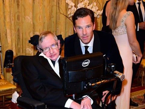 Benedict Cumberbatch will 'miss margaritas' with Stephen Hawking after being the first to play him on screen