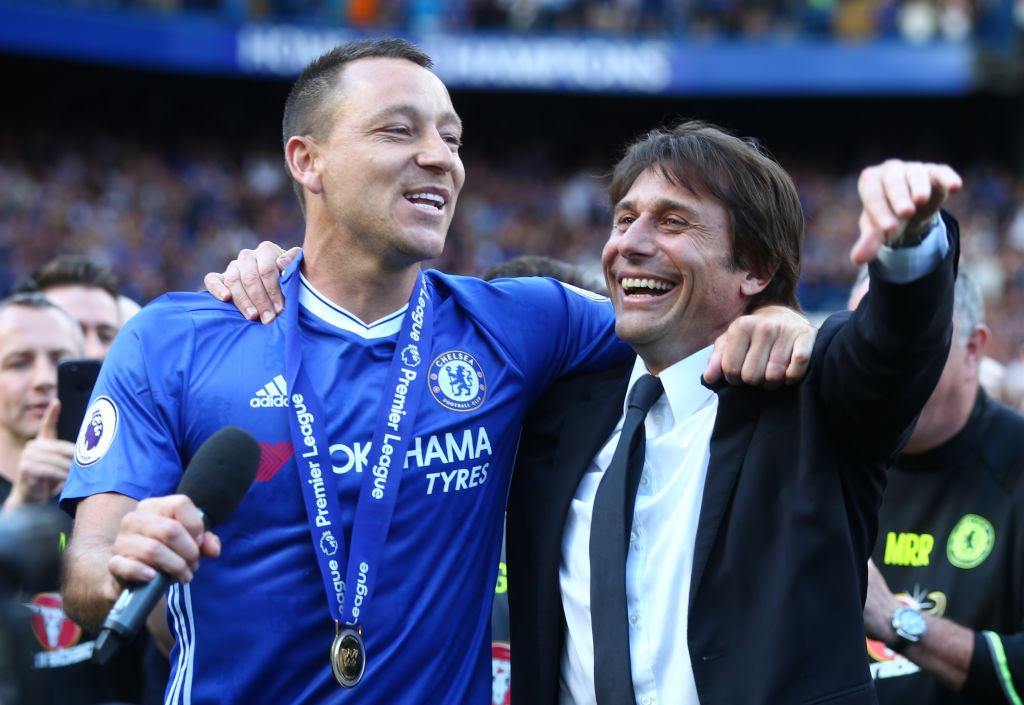 Antonio Conte reveals John Terry regret after former skipper returns to Chelsea