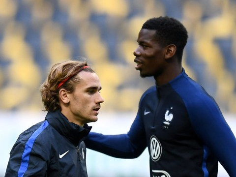 Antoine Griezmann sends Paul Pogba advice over poor form at Manchester United