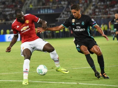 Raphael Varane says Manchester United's Romelu Lukaku is the strongest striker in the world
