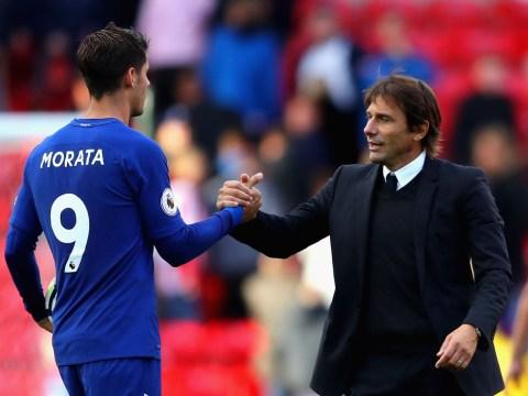 Antonio Conte sends message to Alvaro Morata over his poor form at Chelsea