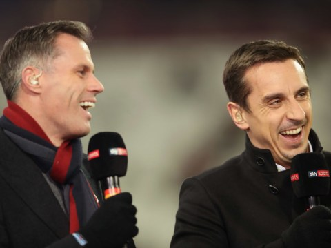 Gary Neville thinks Jamie Carragher should keep Sky Sports job despite spitting incident