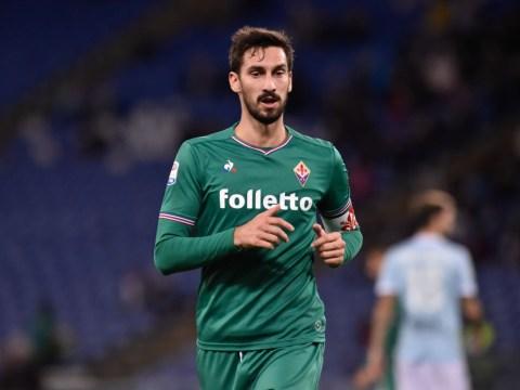 Every Serie A match, including Udinese v Fiorentina, postponed following Davide Astori death