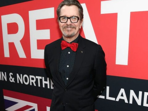 Gary Oldman is carrying Churchill's speech to the Oscars as a good luck charm