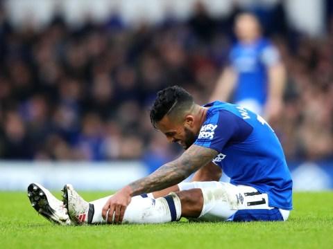 Everton boss Sam Allardyce provides update on Theo Walcott injury