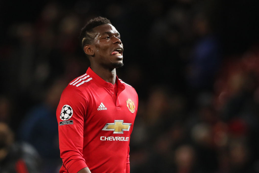 Emmanuel Petit tells Paul Pogba to stop sulking at Manchester United