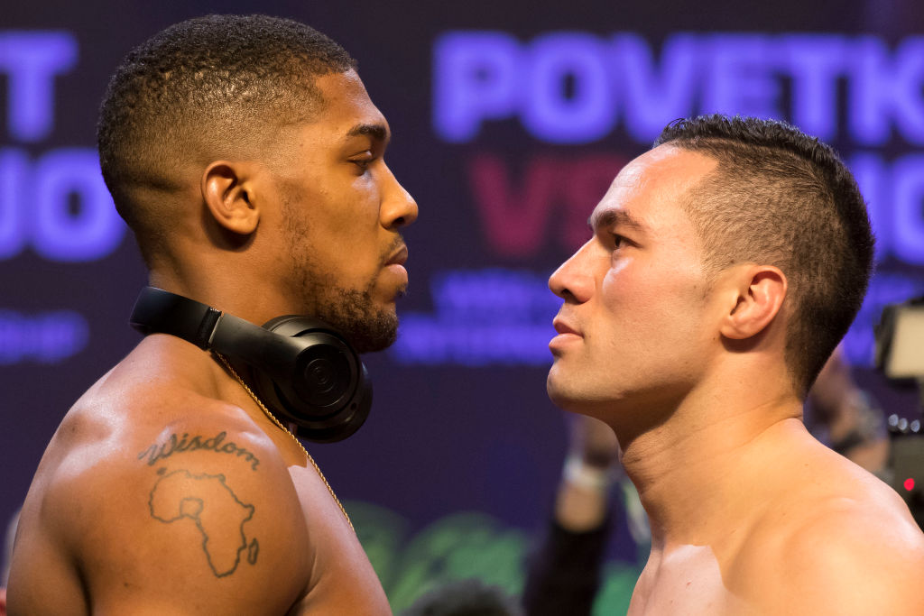 Anthony Joshua is the best since Mike Tyson and will continue his knockout roadshow against Joseph Parker