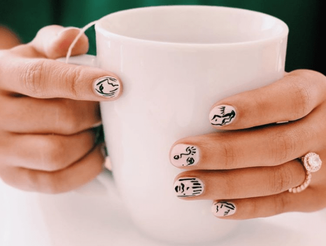 Picasso Nails is the best Instagram beauty trend of all time, hands down
